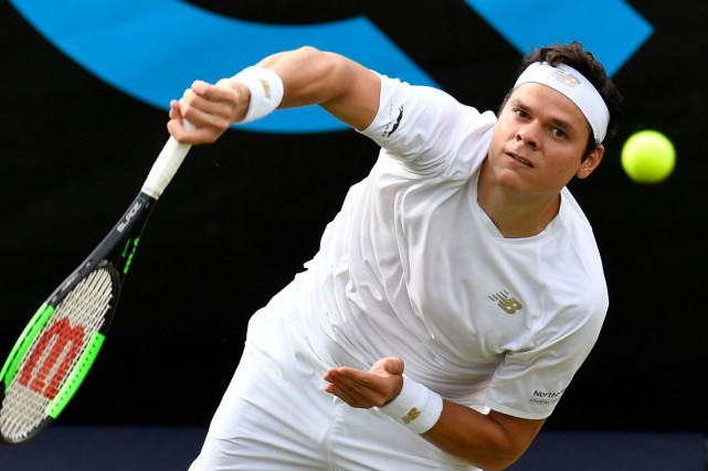 Milos Raonic... (PHOTO THOMAS KIENZLE, ARCHIVES AGENCE FRANCE-PRESSE)