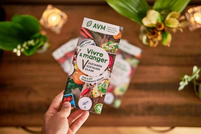 L'Annuaire des commerces végétariens, végétaliens et véganes du... (PHOTO ROMAIN GUILBAULT, FOURNIE PAR L'ASSOCIATION VÉGÉTARIENNE DE MONTRÉAL)