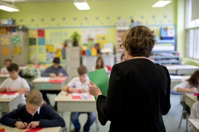 «La CSDM sera, dans le domaine de l'éducation,... (PHOTO DAVID BOILY, ARCHIVES LA PRESSE)