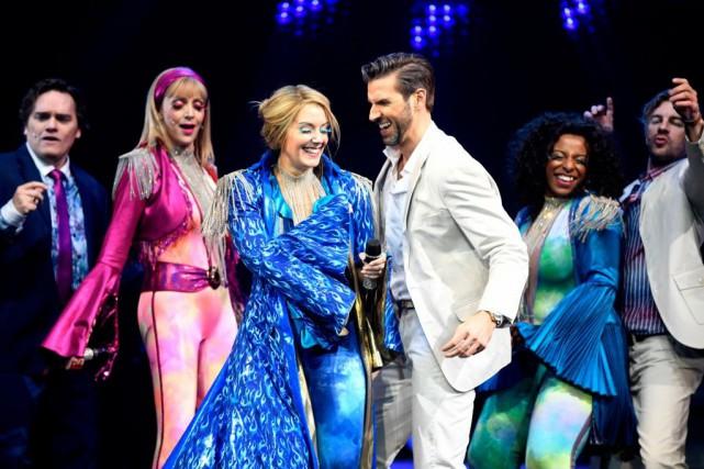 C'est lorsque le succès Mamma Mia!est interprété par... (PHOTO BERNARD BRAULT, LA PRESSE)