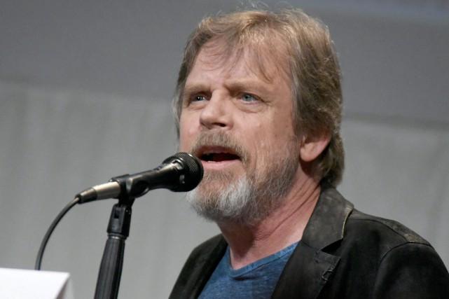 Mark Hamill, le Luke Skywalker dans la saga... (PHOTO RICHARD SHOTWELL, ARCHIVES ASSOCIATED PRESS)