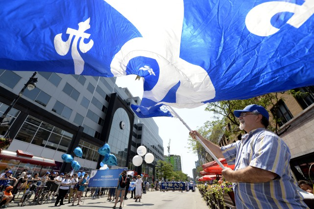 La fête nationale du Québec, ou la Saint-Jean-Baptiste, est célébrée un lundi... (PHOTO BERNARD BRAULT, ARCHIVES LA PRESSE)