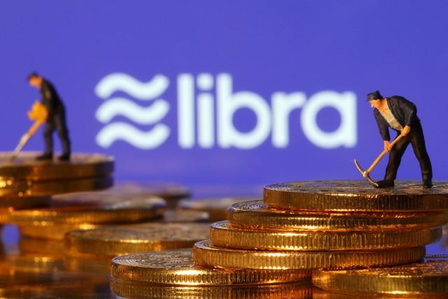 Le projet de cryptomonnaie Libra dévoilé mardi par... (ILLUSTRATION DADO RUVIC, REUTERS)