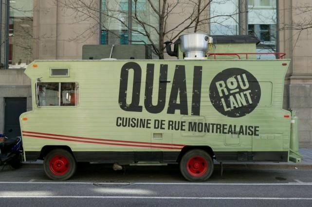 Le camion de rue Quai Roulant sera de... (PHOTO HUGO-SÉBASTIEN AUBERT, ARCHIVES LA PRESSE)
