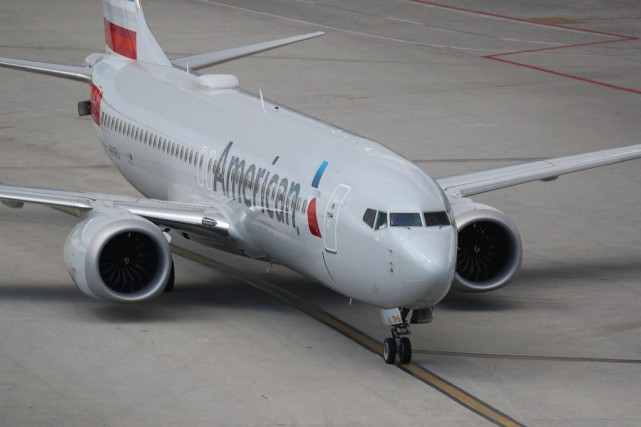 Un Boeing 737 MAX8 de la compagnie American... (PHOTO ARCHIVES AGENCE FRANCE-PRESSE)