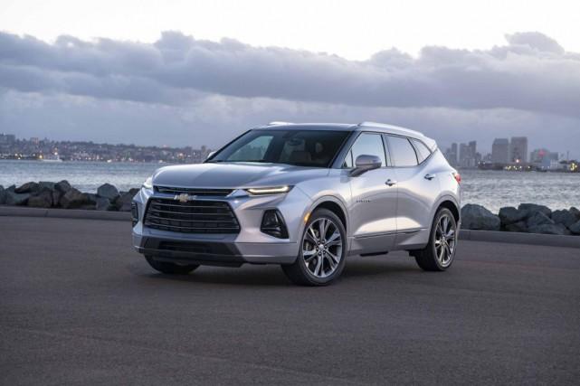 General Motors vient de relancer son Chevrolet Blazer.... (PHOTO FOURNIE PAR CHEVROLET)