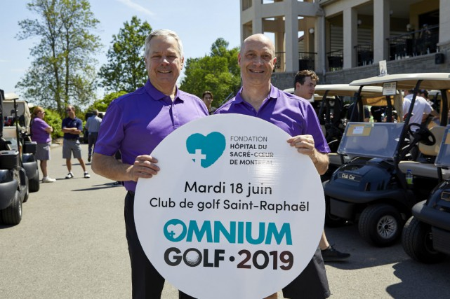 Benoît Laplante et Paul Bergeron.... (Photo fournie par la Fondation)