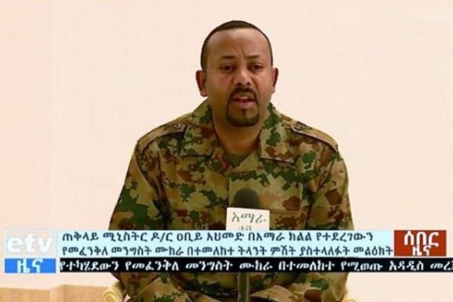 Le chef du gouvernement de l'Ethiopie, Abiy Ahmed.... (PHOTO HO, AFP)