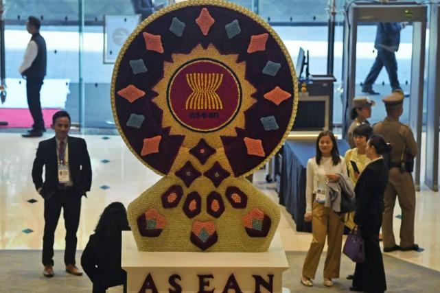 L'Association des nations de l'Asie du Sud-Est s'est... (PHOTOLILLIAN SUWANRUMPHA, AGENCE FRANCE-PRESSE)