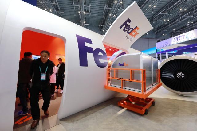 Pékin a appelé lundi FedEx à s'expliquer après... (PHOTO CHINA STRINGER NETWORK, ARCHIVES REUTERS)