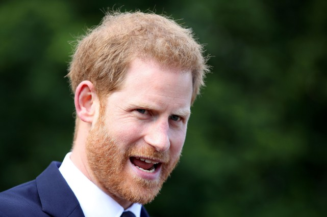 La rénovation de la nouvelle résidence du prince Harry, de son épouse Meghan et... (PHOTO CHRIS JACKSON, AFP)
