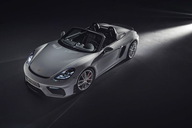La Porsche 718 Spyder... (PHOTO FOURNIE PAR PORSCHE)