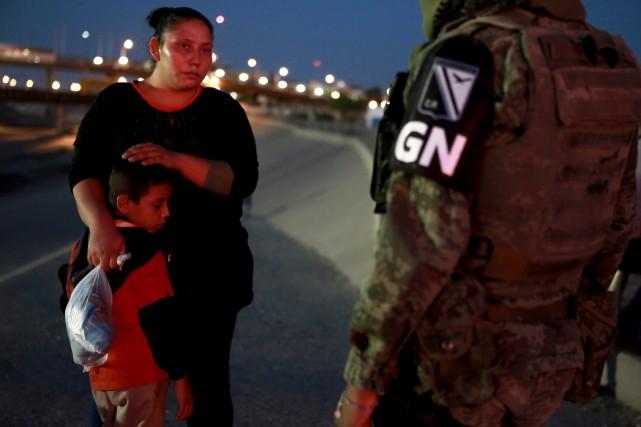 Le Mexique n'arrêtera pas les migrants traversant la frontière avec les É.-U.