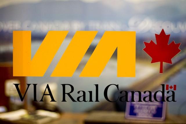 VIA Rail veut construire un nouveau réseau de... (PHOTO BRENT LEWIN, LA PRESSE BLOOMBERG)