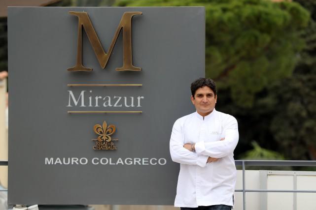 Le restaurant français Mirazur du chef argentin Mauro... (PHOTO VALERY HACHE, ARCHIVES AFP)
