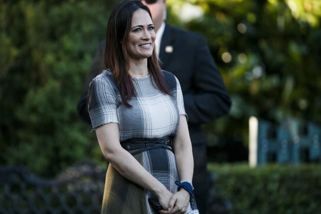 Stephanie Grisham nommée porte-parole de la Maison-Blanche