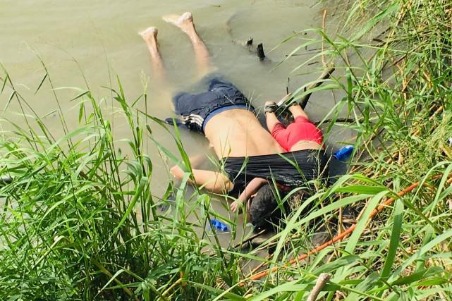 Mexique-États-Unis: indignation après la noyade d'un père et sa fille