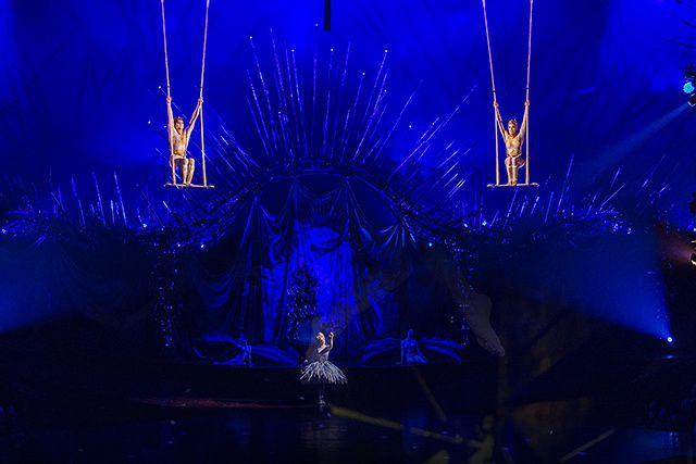 Chaque soir sous le Grand Chapiteau du spectacle Alegría du Cirque du...