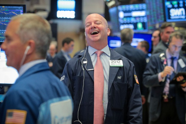 Le Dow Jones gagnait 0,24 % et le NASDAQ... (PHOTO BRENDAN MCDERMID, REUTERS)