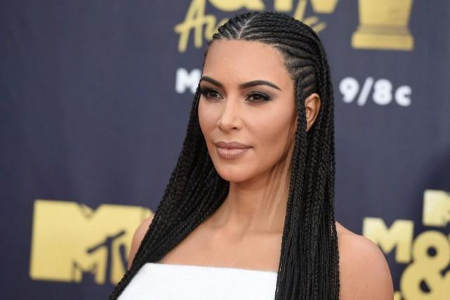 Kim Kardashian... (PHOTOJORDAN STRAUSS, ARCHIVES ASSOCIATED PRESS)