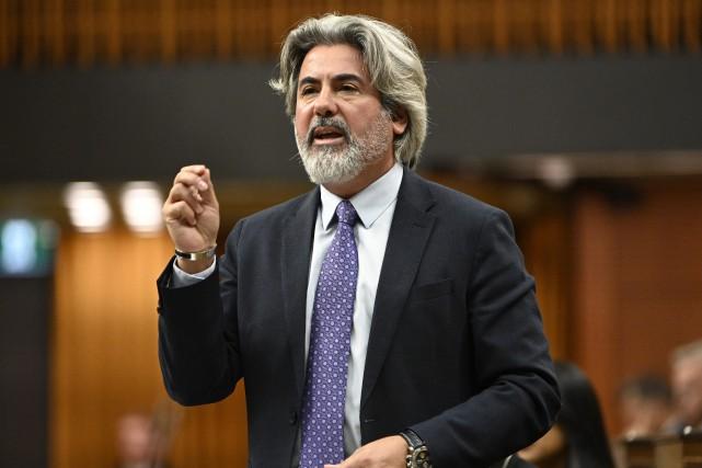 Le ministre libéral Pablo Rodriguez... (PHOTO ADRIAN WYLD, LA PRESSE CANADIENNE)