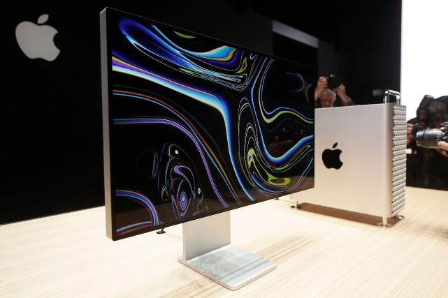 Apple a décidé de transférer la production d'un de ses modèles d'ordinateurs,... (PHOTO JEFF CHIU, AP)