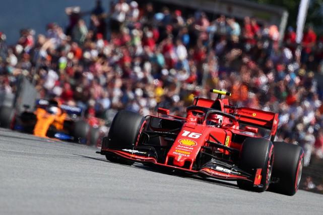 GP d'Autriche: deuxième pole pour Charles Leclerc