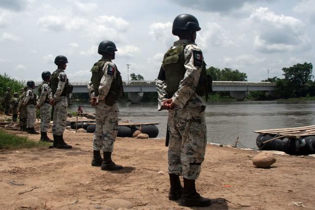 Frontière Mexique-Guatemala: déploiement militaire permanent pour stopper les migrants