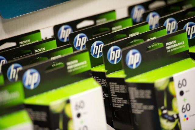 HP représente environ 25% du chiffre d'affaires de... (ARCHIVES BLOOMBERG)