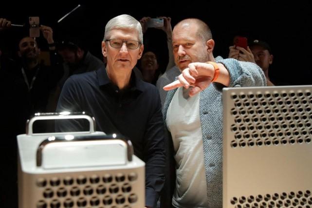 Le 3 juin dernier, le président d'Apple, Tim... (PHOTOJEFF CHIU, ARCHIVES ASSOCIATED PRESS)