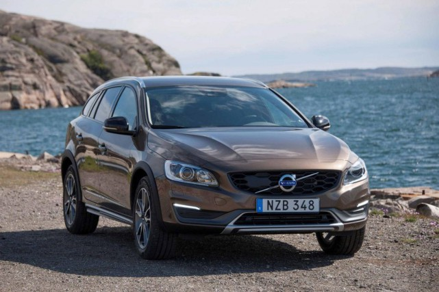 La Volvo V60 Cross Country... (PHOTO FOURNIE PAR VOLVO)