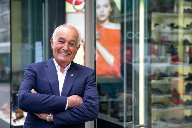Aldo Bensadoun a fondé l'entreprise qui porte son... (PHOTO DAVIDBOILY, LA PRESSE)