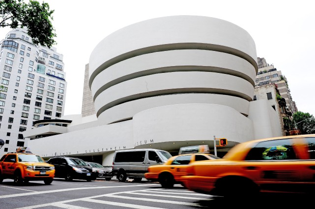 Le musée Guggenheim, à New York.... (PHOTO STAN HONDA, ARCHIVES AGENCE FRANCE-PRESSE)