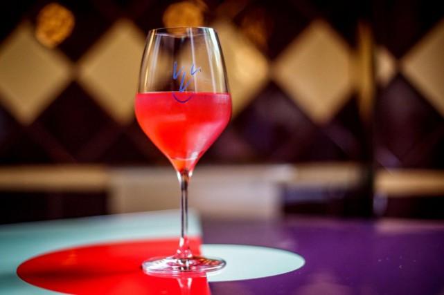 La carte de vinvinvin compte plusieurs cuvées autrichiennes,... (PHOTO OLIVIER JEAN, LA PRESSE)