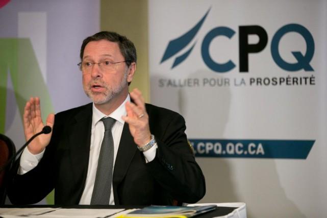 Yves-Thomas Dorval, PDG duConseil du patronat du Québec... (PHOTO DAVID BOILY, ARCHIVES LA PRESSE)