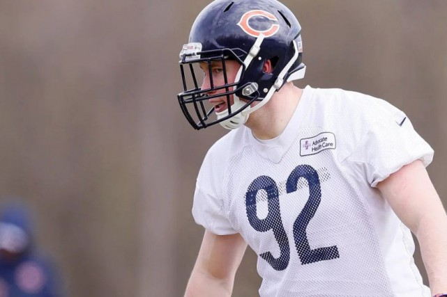 Mathieu Betts s'est bien adapté à son nouvel... (PHOTO FOURNIE PAR LES BEARS DE CHICAGO)