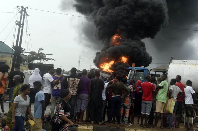 L'explosion a eu lieu jeudi dernier dans le... (PHOTO AFP)