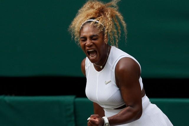 Wimbledon: SerenaWilliams poursuit sa quête du record