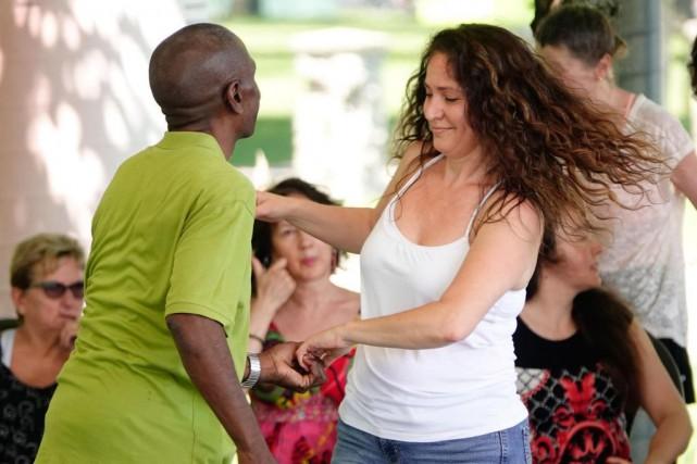 Pour que la danse puisse se comparer à... (PHOTO BERNARD BRAULT, LA PRESSE)