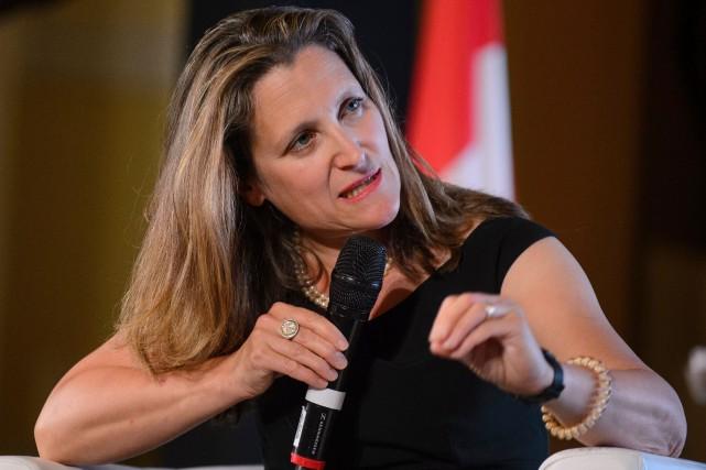 Le Canada défend la liberté de la presse à Londres