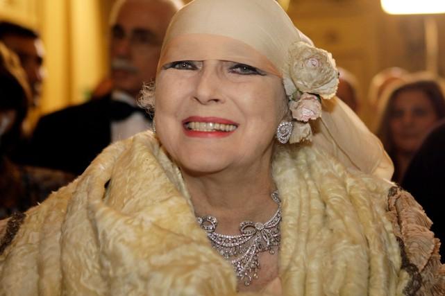 Valentina Cortese lors d'un spectacle à la Scala... (PHOTO LUCA BRUNO, ARCHIVES AP)