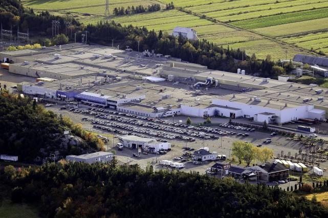 L'usine de Bombardier à La Pocatière.... (PHOTO YVES TREMBLAY, ARCHIVES LES YEUX DU CIEL)