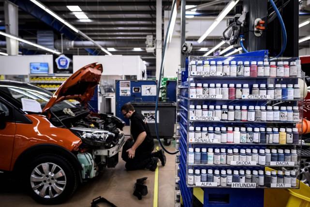 En Europe, Aramis Auto a industrialisé les procédés... (PHOTO JEAN-PHILIPPE KSIAZEK, AFP)