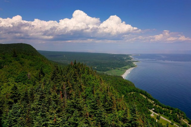 Le parc national Forillon, en Gaspésie... (PHOTO BERNARD BRAULT, ARCHIVES LA PRESSE)