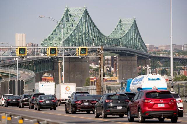 Des travaux majeurs sont prévus sur le pont... (PHOTO DAVID BOILY, LA PRESSE)