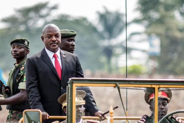 Le régime du président du Burundi, Pierre Nkurunziza,... (PHOTO MARCO LONGARI, ARCHIVES AGENCE FRANCE-PRESSE)