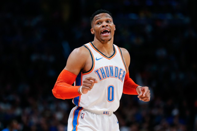 Russell Westbrook... (PHOTO ISAIAH J. DOWNING, USA TODAY SPORTS)