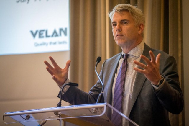 Yves Leduc,PDG de Velan... (PHOTO OLIVIER JEAN, LA PRESSE)