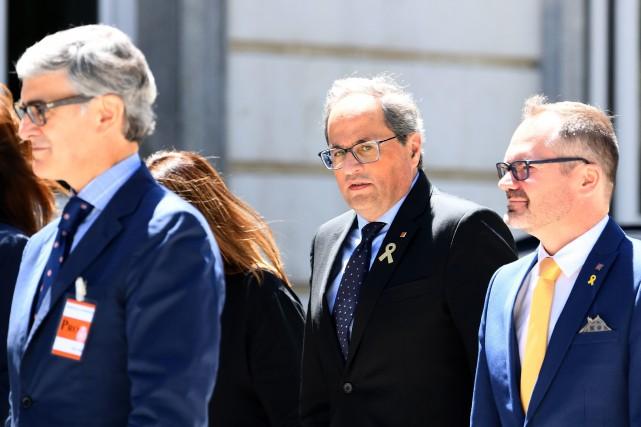 Le tribunal supérieur de justice de Catalogne a... (PHOTO GABRIEL BOUYS, ARCHIVES AGENCE FRANCE-PRESSE)