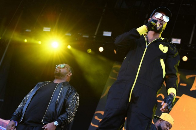 Raekwon, RZA et Ghostface Killah, du Wu-Tang Clan, lors du... (PHOTO ANGELA WEISS, ARCHIVES AGENCE FRANCE-PRESSE)